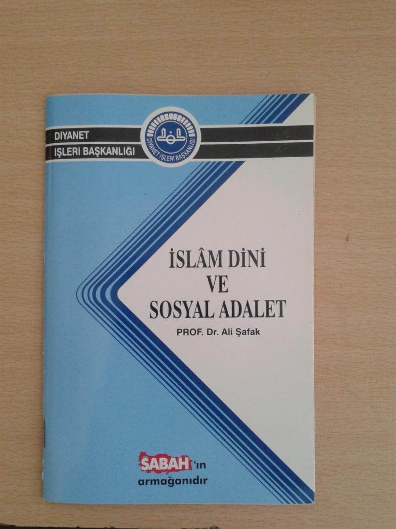 islam dini ve sosyal adalet yazar prof dr ali safak kitabi cok okurum kitap kurdu olurum